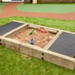 School Sand Pit in Caerphilly 1