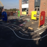 School Sand Pit in Caerphilly 9