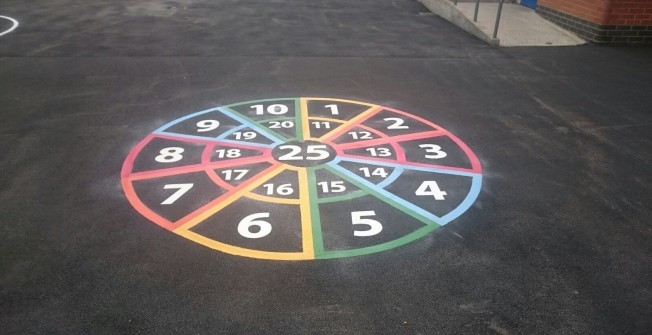Number Games for Kids in Abberton
