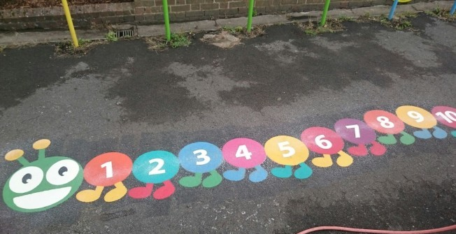 Number Line Installation in Amersham